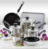 Farberware 16-Pc. Classic Stainless Steel Cookware Set