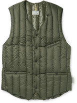 Rocky Mountain Featherbed - Six Month Quilted Shell Down Gilet