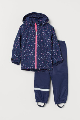 H&M Waterproof jacket and trousers