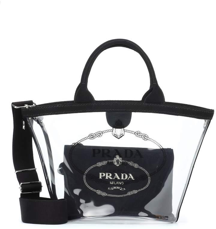 4a3c1fa1fb62 Prada Leather Tote Bags - ShopStyle