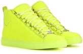 Balenciaga Arena High-top Leather Sneakers
