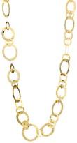 Ippolita Classico Short 18K Yellow Gold Crinkle Medium Link Necklace
