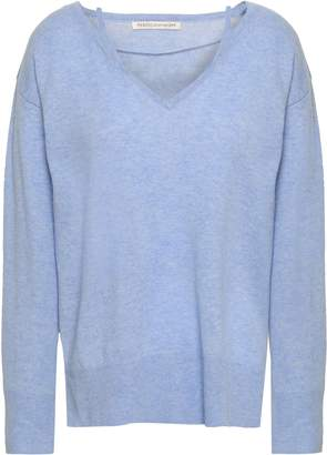 Rebecca Minkoff Melange Wool And Cashmere-blend Sweater