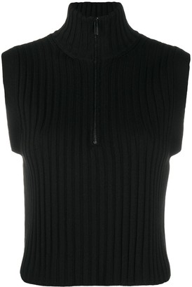 Wolford Concordia ribbed knit cropped top