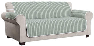 P/Kaufmann Home Harper Striped Xl Sofa Furniture Cover Slipcover
