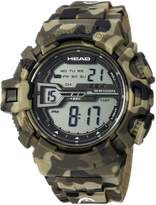 Head Men's 'Half Pipe' Quartz Resin and Rubber Casual Watch, Color: (Model: HE-106-02)