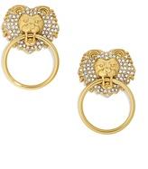 BaubleBar Panthera Lion Head Earrings