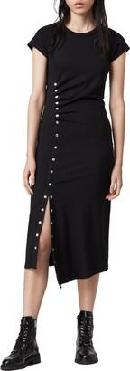 AllSaints Hatti Midi T-Shirt Dress