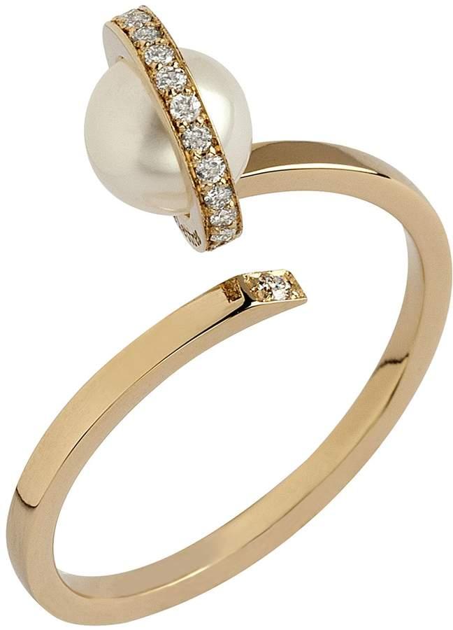 Delfina Delettrez Seal Ring with Pearl