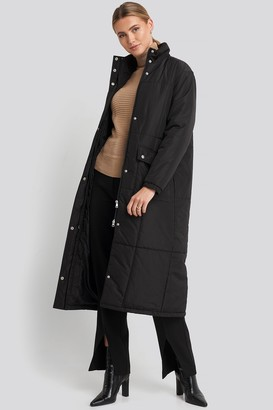 NA-KD Long Padded Jacket