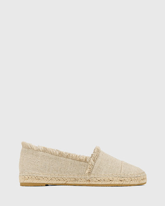 Wittner - Women's Neutrals Flats - Ecstatic Natural Linen Loafer Espadrilles - Size One Size, 38 at The Iconic
