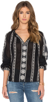 Maison Scotch Embellished Blouse