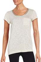 Calvin Klein Metallic Trim Pocket Tee
