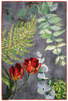 Designers Guild Tulipani Throw Graphite