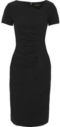 Donna Karan Pleated Cady Dress