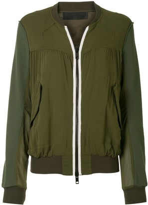 Haider Ackermann Short Bomber Jacket