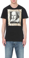 Anglomania Punk Shakespeare Cotton-jersey T-shirt