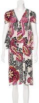 Barbara Bui Silk Printed Dress