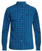 MAISON KITSUNÉ Checked cotton-poplin shirt