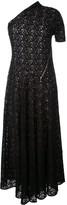 Stella McCartney floral cold shoulder dress