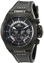 Adee Kaye Men's AK6368-GBK Phantom Analog Display Japanese Quartz Black Watch