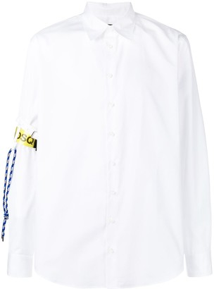 DSQUARED2 Classic Collar With Logo Arm Band
