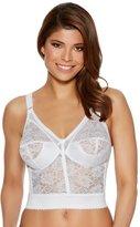 M&Co Naturana non-wired longline lace bra