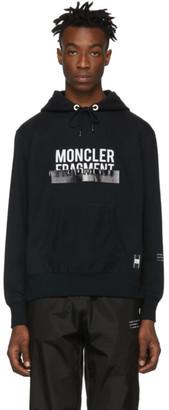 Moncler Genius 7 Hiroshi Fujiwara Black Logo Hoodie