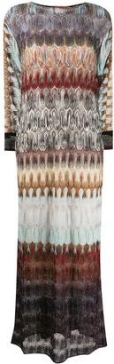 Missoni Glitter Detail Long Dress