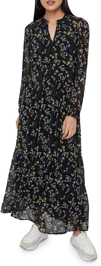 Vero Moda Lotus Printed Maxi Dress