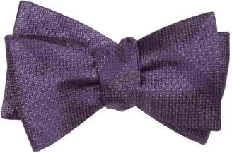The Tie BarThe Tie Bar Eggplant Glimmer Bow Tie