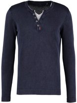 Tom Tailor Jumper Knitted Navy