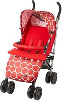 Ladybird Stroller with Footmuff - Red
