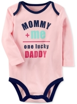Carter's One Lucky Daddy Cotton Bodysuit, Baby Girls (0-24 months)