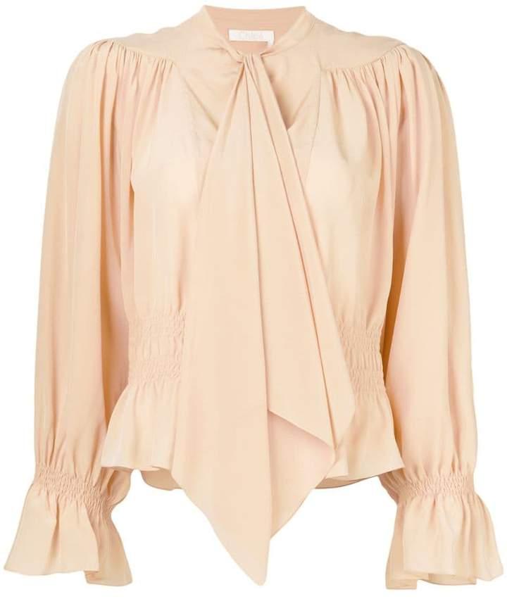 Chloé draped blouse