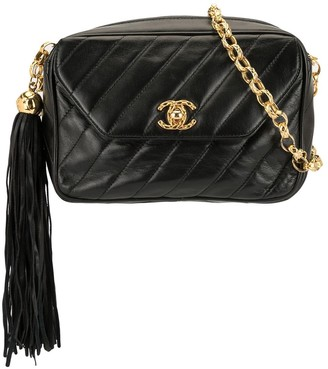 Chanel Pre Owned Tassel Cameral Bag