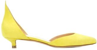 Francesco Russo low heel pointed pumps