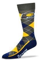 For Bare Feet Men's Indiana Pacers Argyle Dress Socks