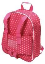 """Badger Basket 18"""" Doll Travel Backpack - Star Pattern"""