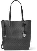 MICHAEL Michael Kors Hayley Large North-South Logo-Print Tote Bag