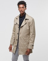 Selected Phill Trench Coat in Sand