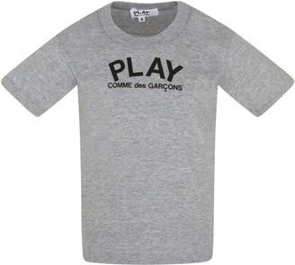 Comme des Garcons Grey T-shirt For Kids