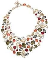 """Swarovski by Jason Wu Mosaic Collar Necklace, 14.4"""""""