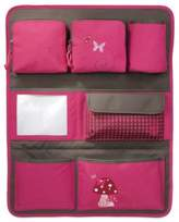 Lassig Backseat Car Organizer in Mushroom Magenta