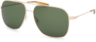 Barton Perreira Men's Aeronaut Aviator Sunglasses