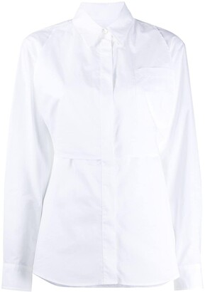 MM6 MAISON MARGIELA Back Tie Fastening Buttoned Shirt