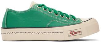 Visvim Green Skagway Lo Patten Sneakers