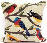 "Birds 18"" Square Outdoor Pillow"