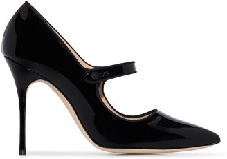 Manolo Blahnik Mary Jane 105mm pumps