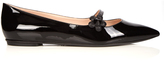 Fendi Flowerland pointed flats